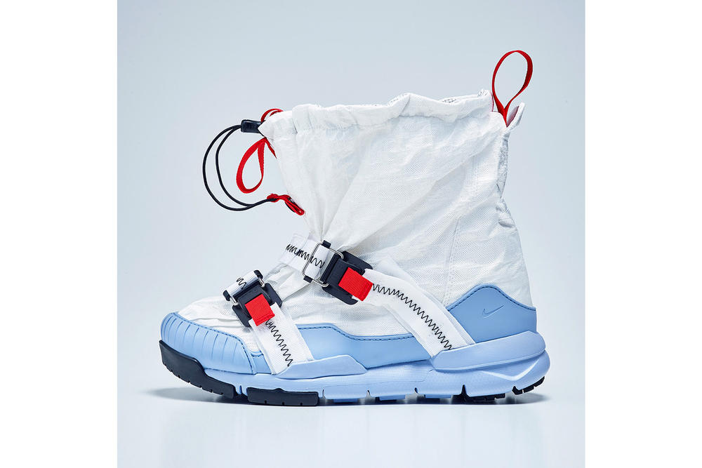 Tom Sachs x Nike Mars Yard Overshoe Release Date Sneaker Footwear Boot Shoe
