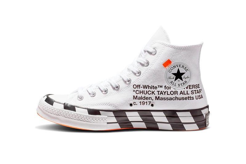 off white black converse