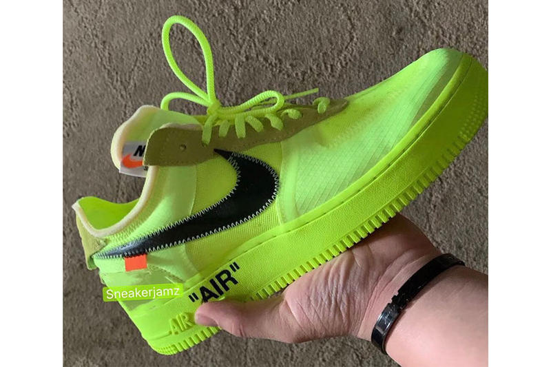 Off White Nike Air Force 1 Volt
