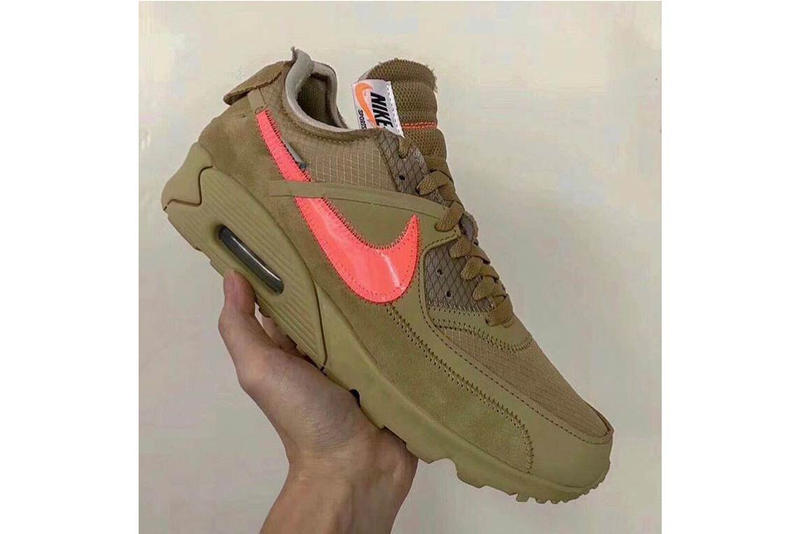 Off White Nike Air Max 90 Desert Ore