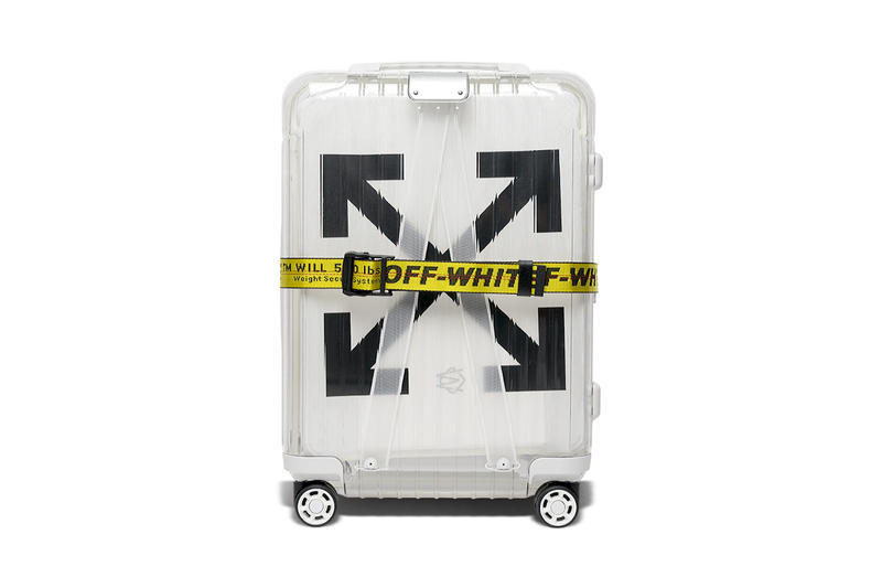 Off White RIMOWA Essential Suitcase