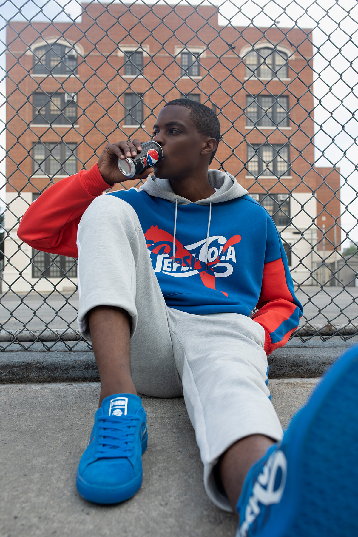Pepsi x PUMA Exclusive Suede