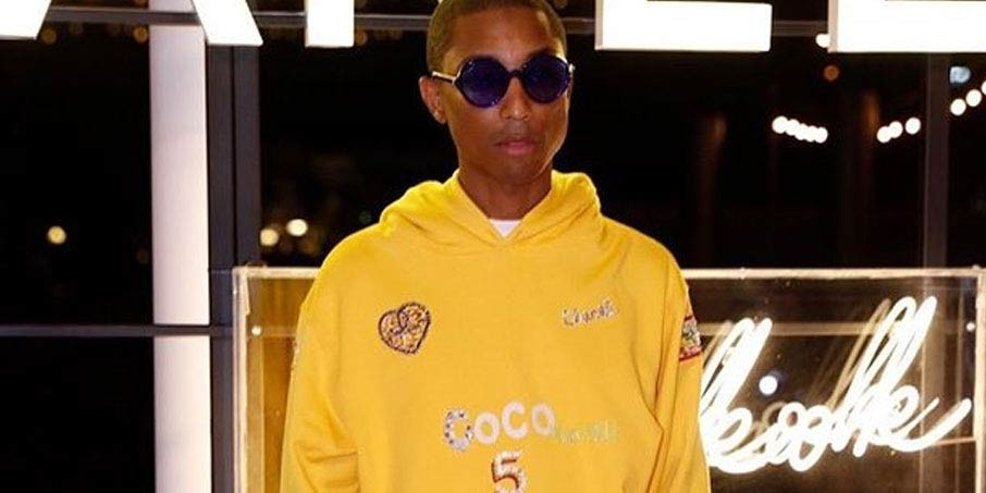 f85b8bdaf Pharrell Teases Chanel Collaboration With Hoodie