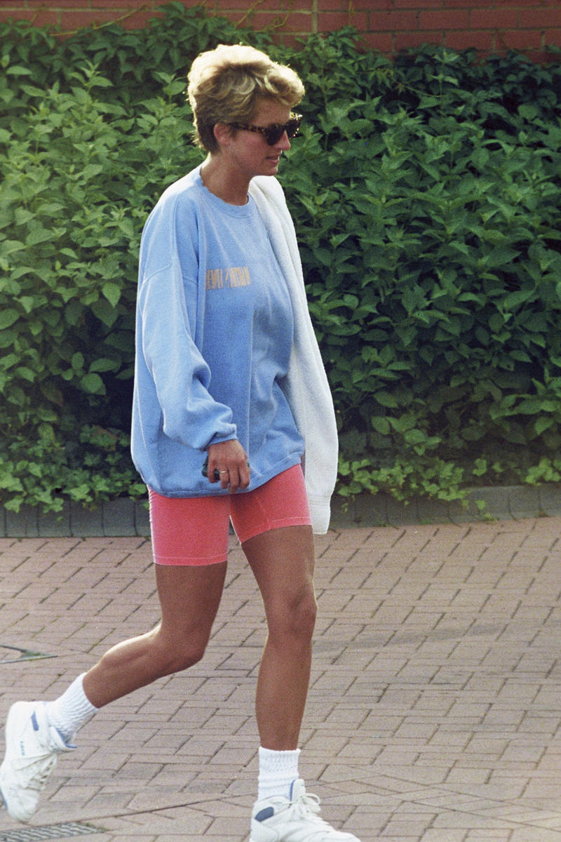 princess diana best sneakers retro street style fashion superga reebok puffer jacket cowboy boots