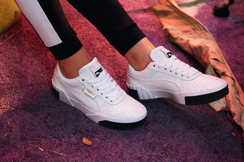 cheap for discount 3ea94 6f9c4 PUMA Cali Women s Sneaker Trainer Black White Monochrome