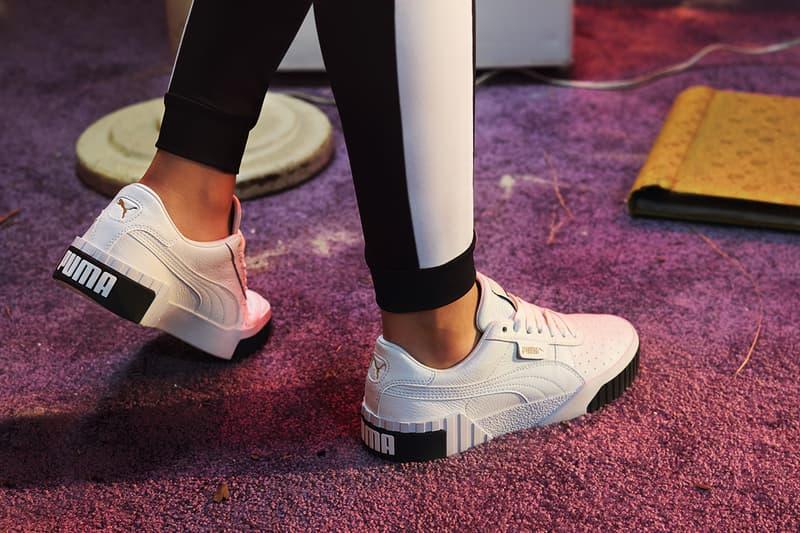8efd058e3a87 PUMA Cali Women s Sneaker Trainer Black White Monochrome