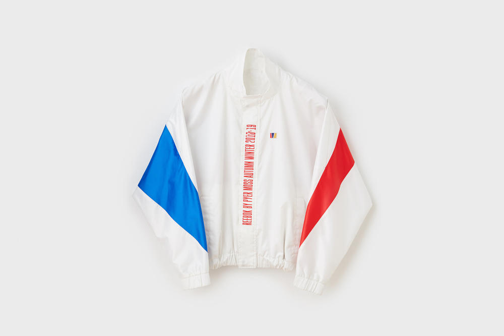 Pyer Moss x Reebok Fall Winter 2018 Collection 1 Jacket White