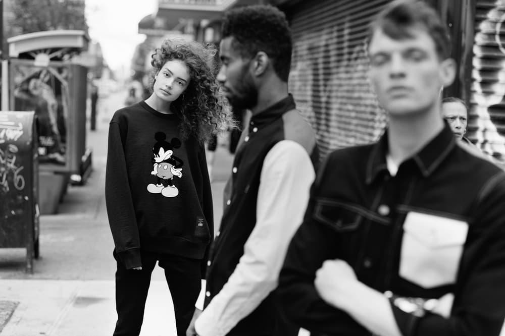 rag & bone x Disney Mickey Mouse Collection Sweatshirt Black