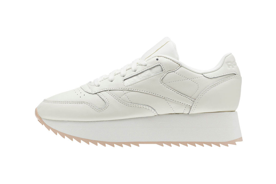 Classic Leather Double in Off-White