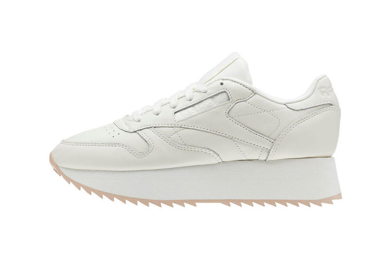 79a711b8ba4733 Reebok Classic Leather Double Chalk Bare Beige