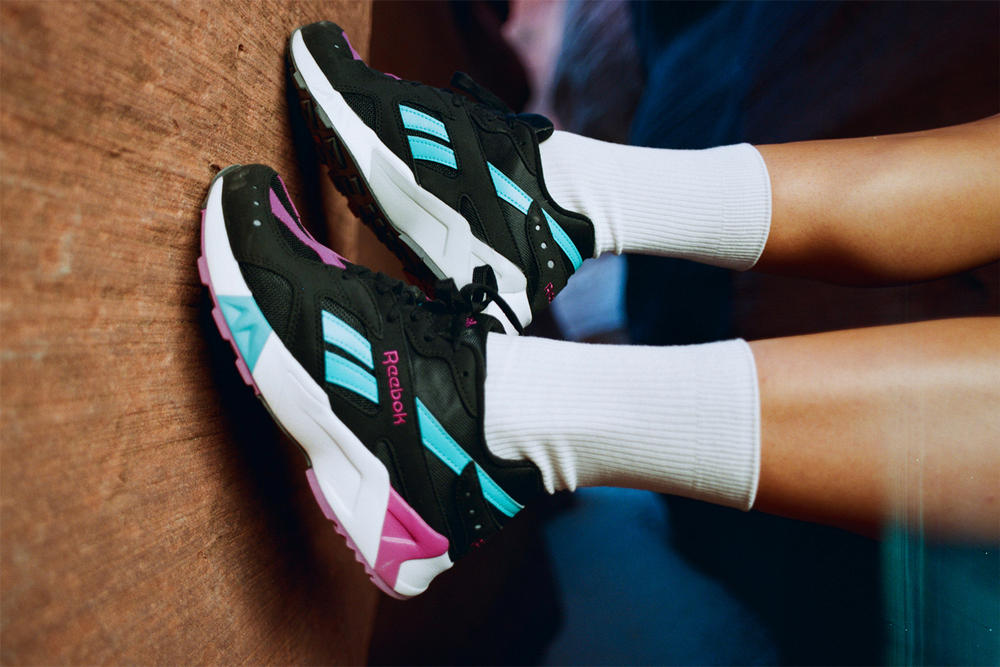 reebok 90s collaboration frankie collective sara gourlay vintage capsul collection