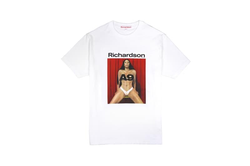 Richardson Magazine Capsule Collection Kim Kardashian A9 Cover Tee White