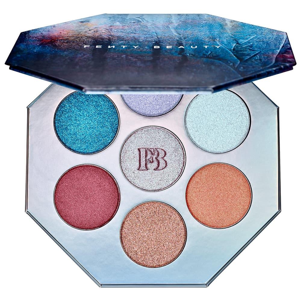 Rihanna Fenty Beauty Holiday 2018 Makeup Chillowt Killawatt Foil Highlighter Palette