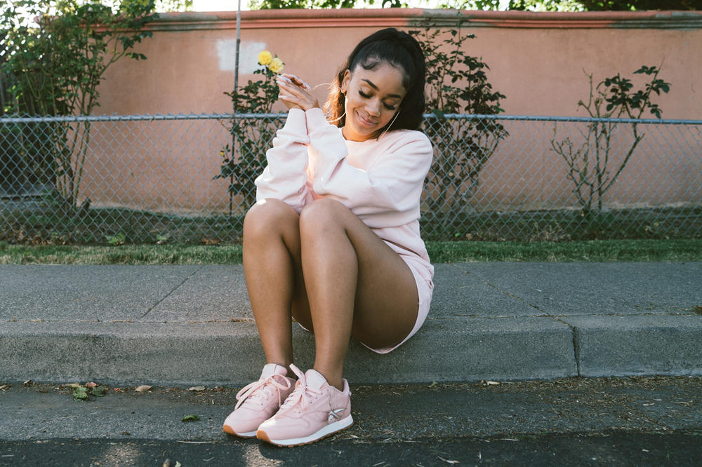 Saweetie Reebok Classic Leather Altered Rose Cloud Gold