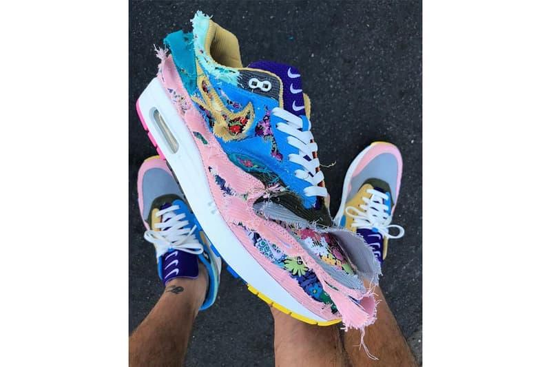 Sean Wotherspoon Nike Air Max 1 Floral Corduroy Tearaway