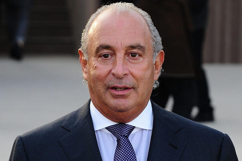 Topshop Chairman Sexual Harassment Accusations Me Too Time's Up Movement Report Misconduct Sir Philip Green Topman Arcadia Group