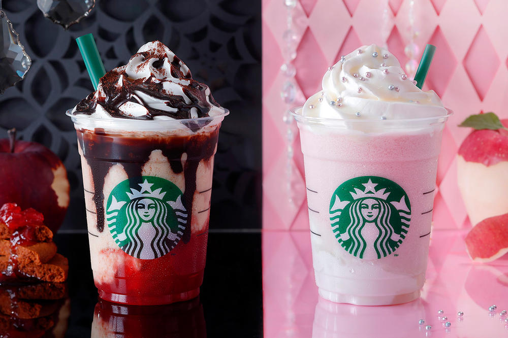 Starbucks Japan Halloween Witch Princess Frappuccino 2018