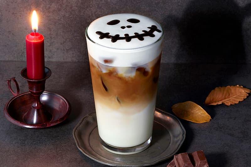 Starbucks Korea Halloween Vampire Frappuccino Monster Cappuccino 2018