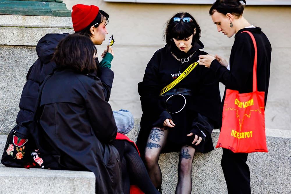 Street Style Women Moscow Fashion Week 2018 Spring Summer 2019