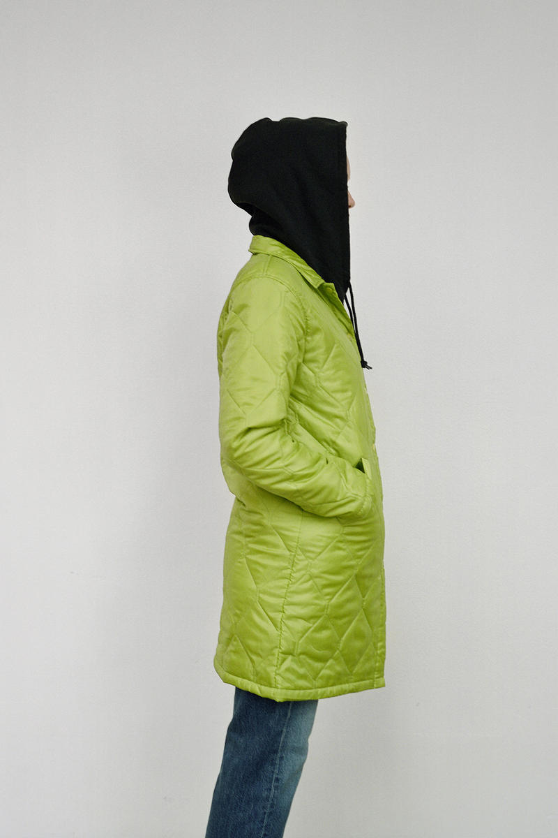 Stussy Women's Holiday 2018 Collection Lookbook Jacket Bright Green