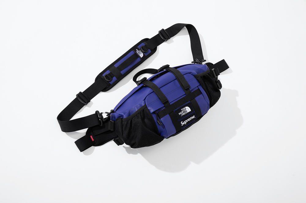 Supreme x The North Face Fall 2018 Leather Collection Mountain Waist Bag Purple
