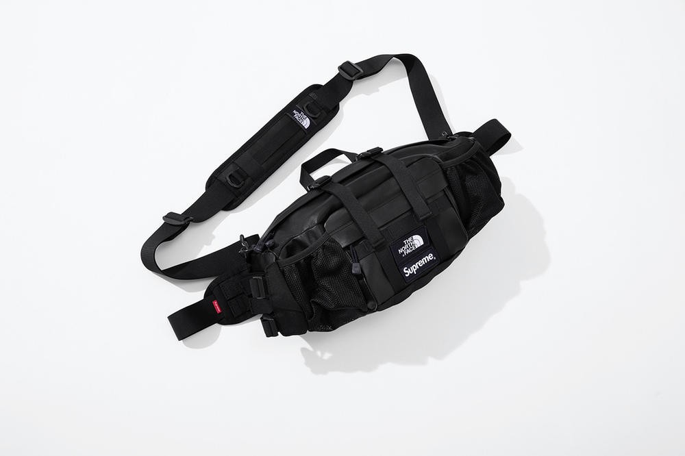 Supreme x The North Face Fall 2018 Leather Collection Mountain Waist Bag