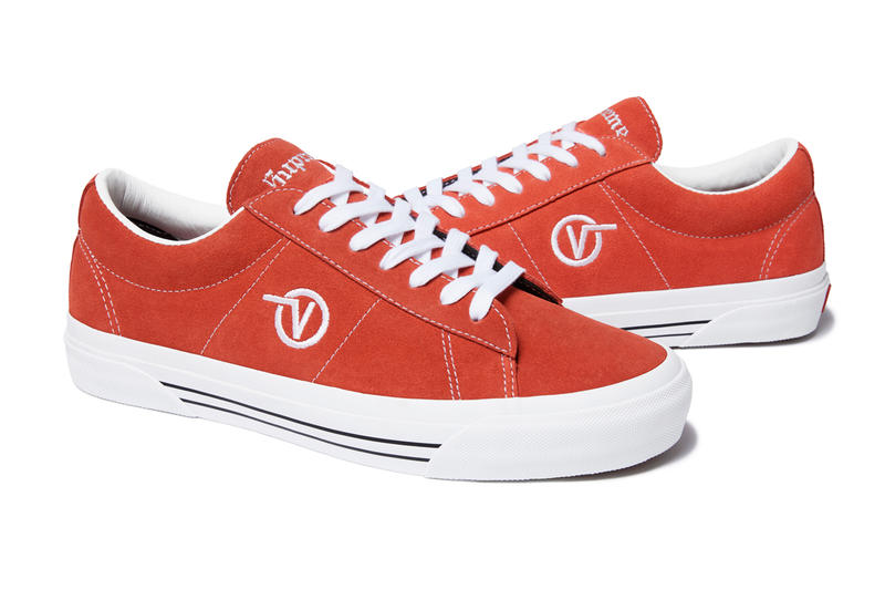 Supreme x Vans Sid Pro Fall Winter 2018 Collection Orange