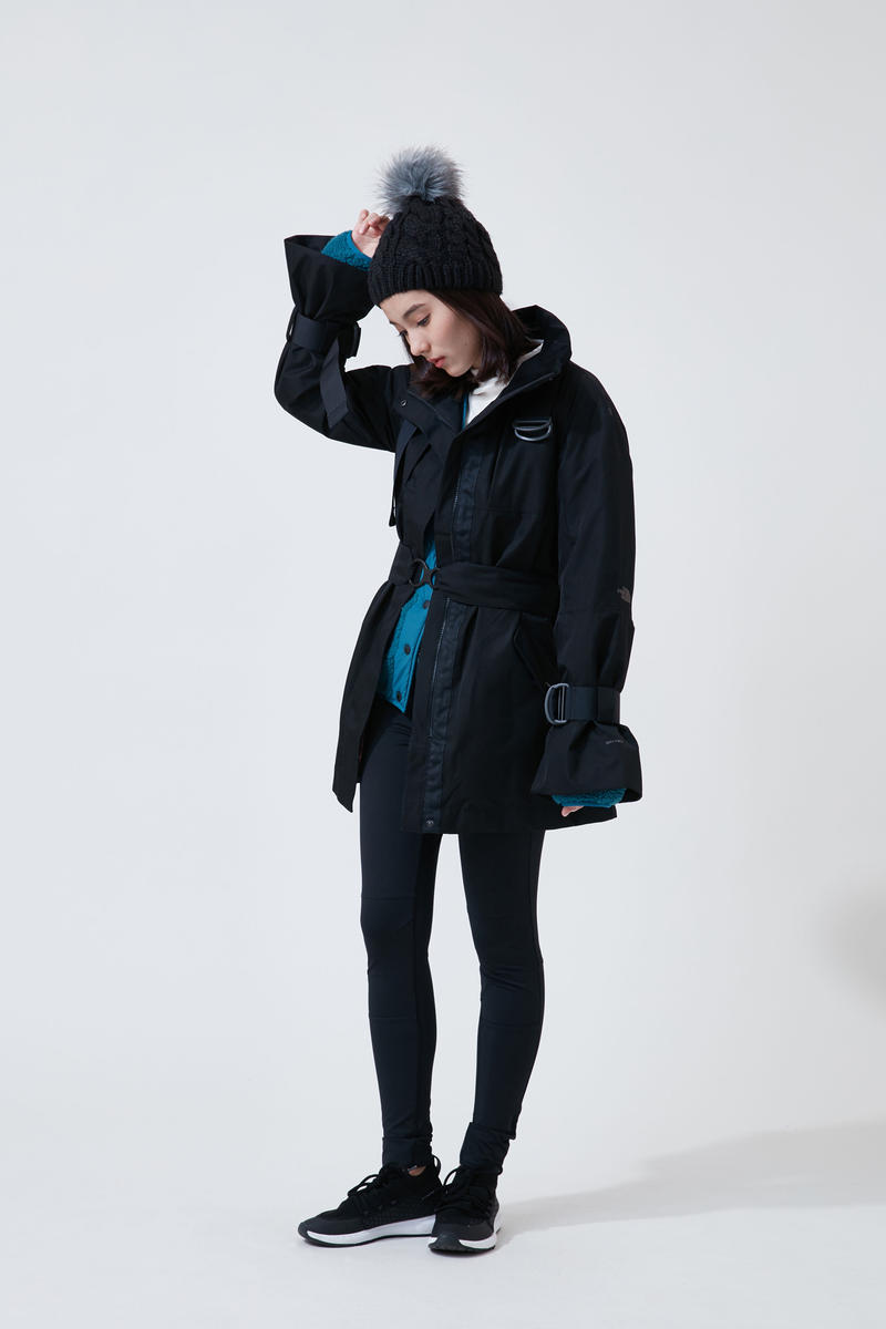 The North Face Urban Exploration Black Series Fall Winter 2018 Hat Jacket Leggings Black