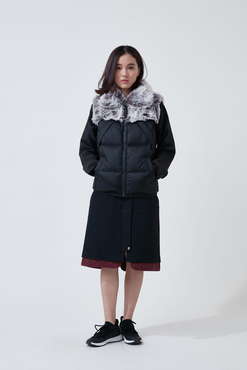 The North Face Urban Exploration Black Series Fall Winter 2018 Jacket Skirt Black