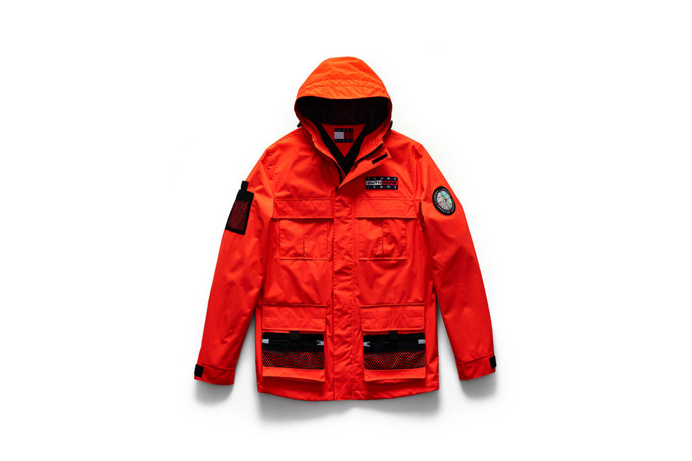 Tommy Jeans Outdoors Fall 2018 Capsule Collection Parka Red Black