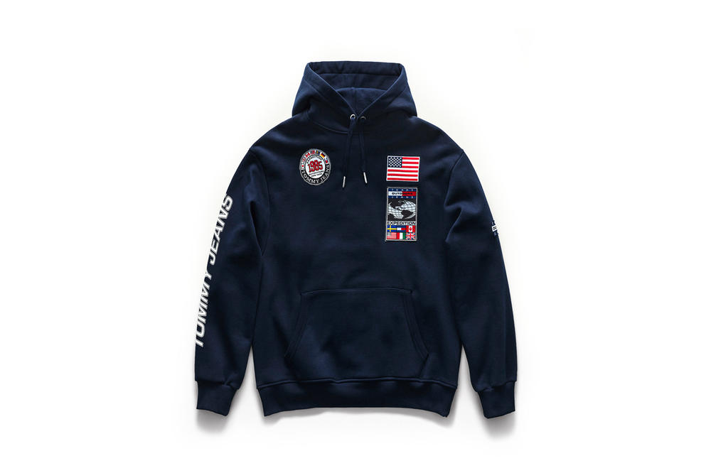 Tommy Jeans Outdoors Fall 2018 Capsule Collection Hoodie Navy