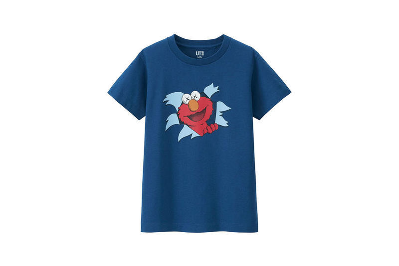 KAWS Uniqlo UT Sesame Street Second Collection Sweatshirt Hoodie T-shirt Plushies Plush Toys Bert Ernie Big Bird Elmo Cookie Monster