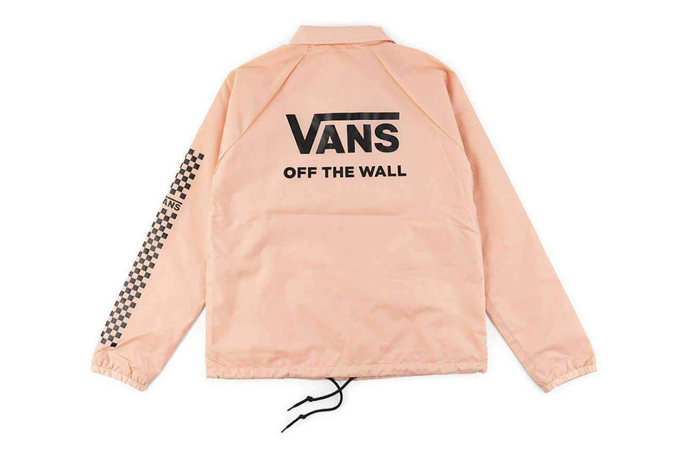Vans Thanks Coach Funday Jacket In Rose Cloud Pink Hypebae