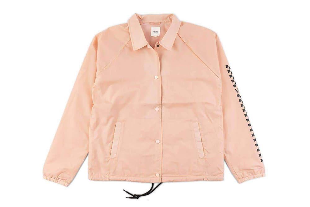 Vans Girls Thanks Coach Funday Women's Jacket Rose Cloud Pink