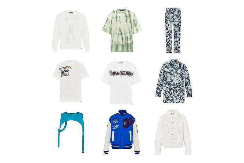 Virgil Abloh Louis Vuitton Spring Summer 2019 Collection T-shirts Varsity Jacket Trousers