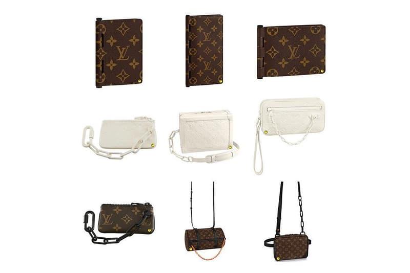 Virgil Abloh Louis Vuitton Spring Summer 2019 Collection Handbags Wallets Chain Bag