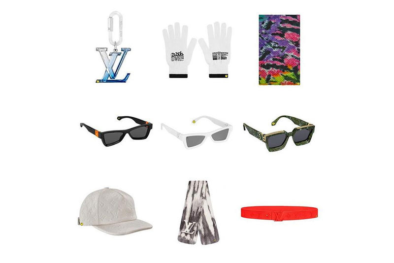 Virgil Abloh Louis Vuitton Spring Summer 2019 Collection Accessories Gloves Millionaire Sunglasses Hat Belt