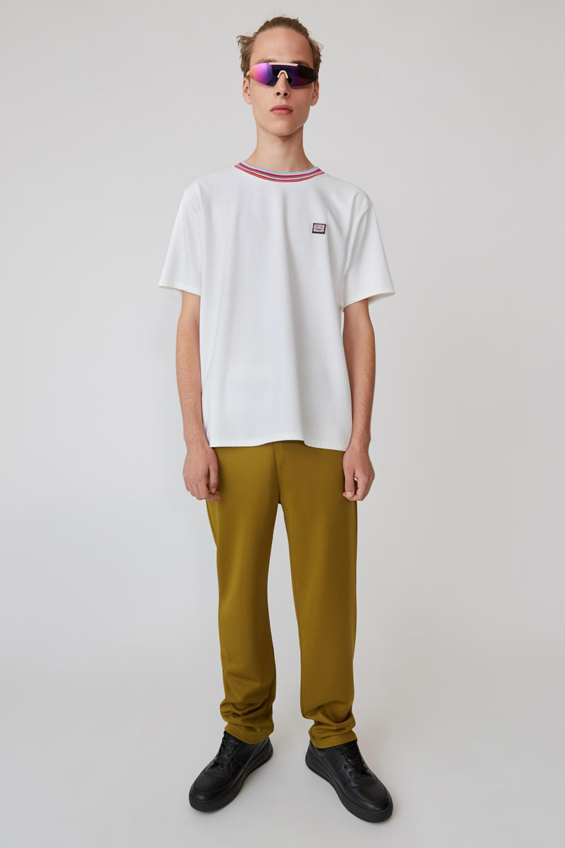 Acne Studios Spring/Summer 2019 Face Collection T-shirt White