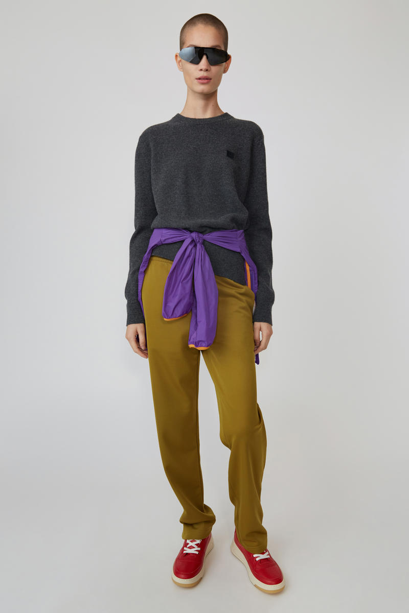 Acne Studios Spring/Summer 2019 Face Collection Long Sleeve Shirt Black Pants Brown