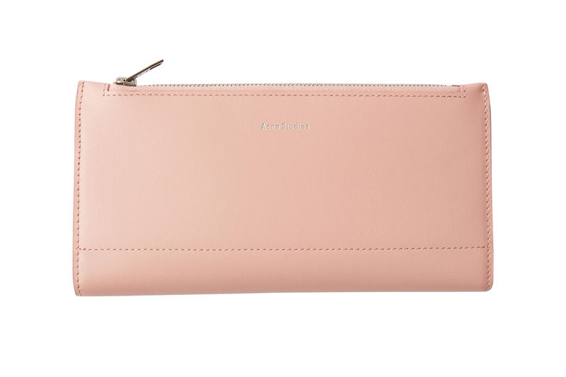 Acne Studios Continental Wallet Pink