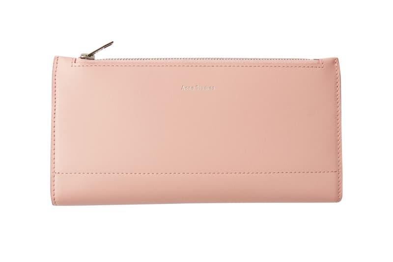 Acne Studios Continental Wallet Pink