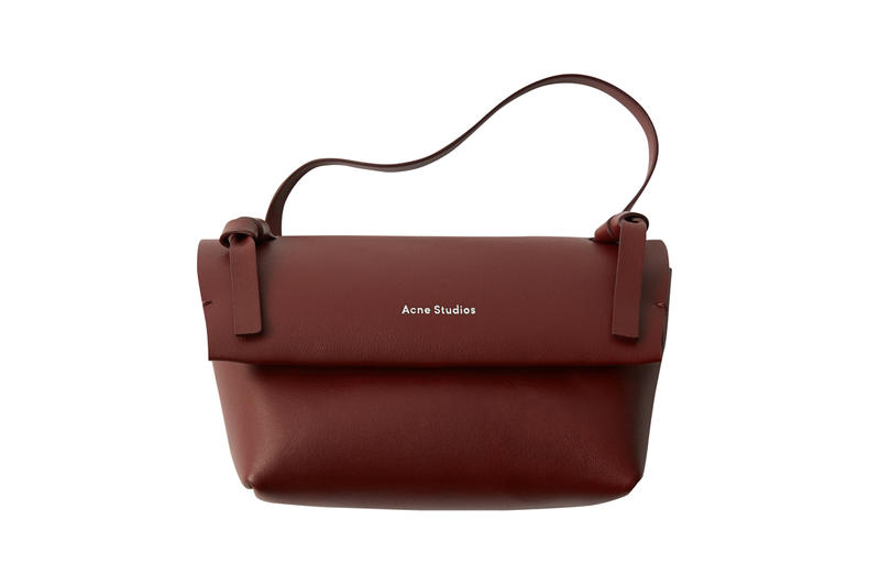 Acne Studios Mini Bag Maroon