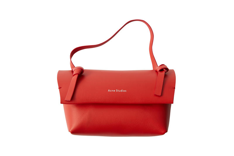 Acne Studios Mini Bag Red