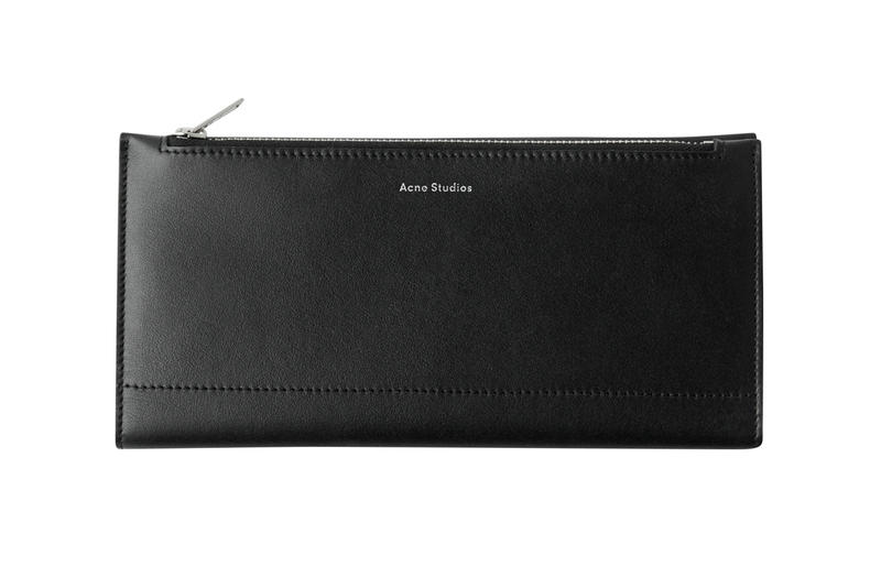 Acne Studios Continental Wallet Black