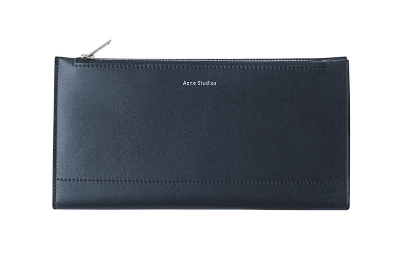 Acne Studios Continental Wallet Blue