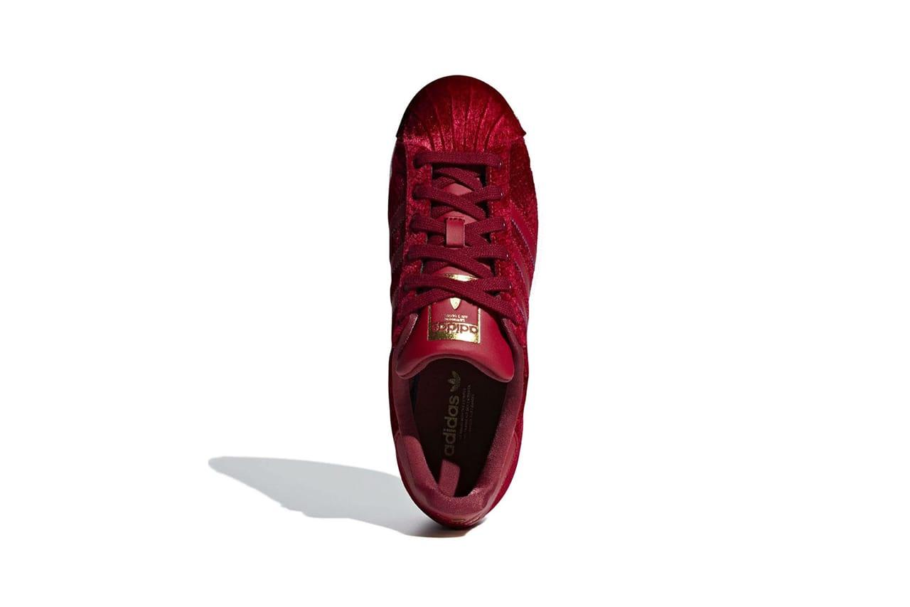 adidas Originals Releases Velvet Maroon