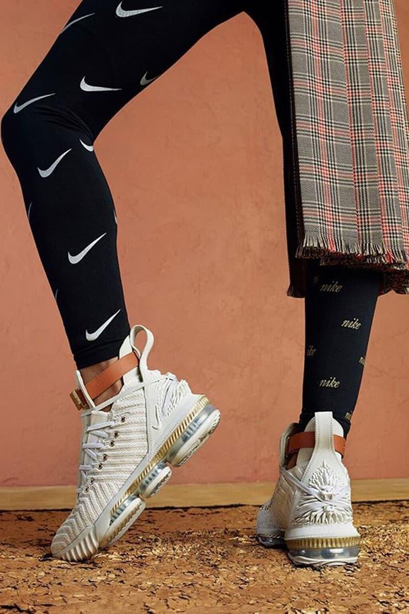 Nike Swoosh Leggings Lebron 16 Harlem Fashion Row