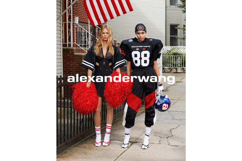 "Alexander Wang ""COLLECTION 1"" Drop 1 Lookbook Binx Walton Anna Ewers Amerciana Range Fashion Fall Winter"