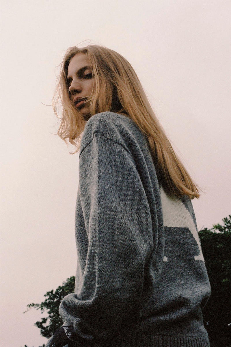 ALICE LAWRANCE XX Fall/Winter 2018 Collection Sweater Grey