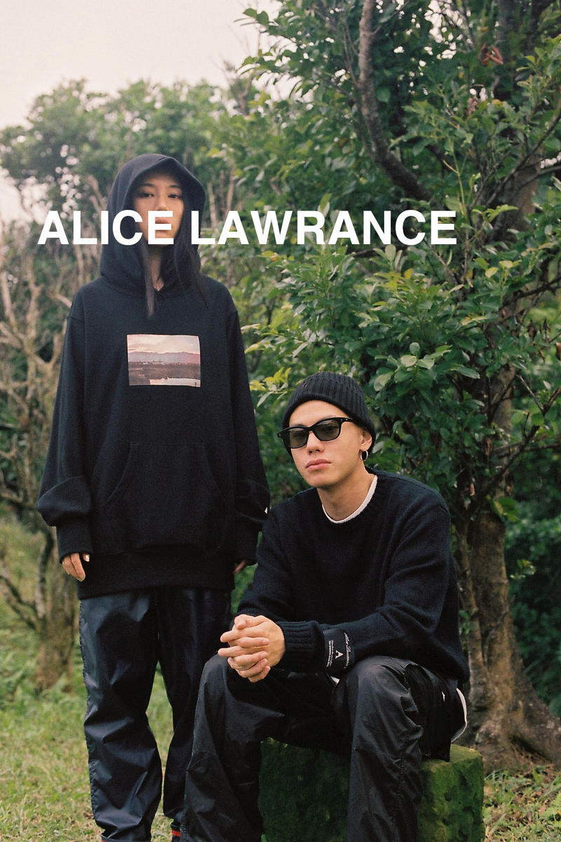 ALICE LAWRANCE XX Fall/Winter 2018 Collection Photo Reverse-Weave Hoodie Black
